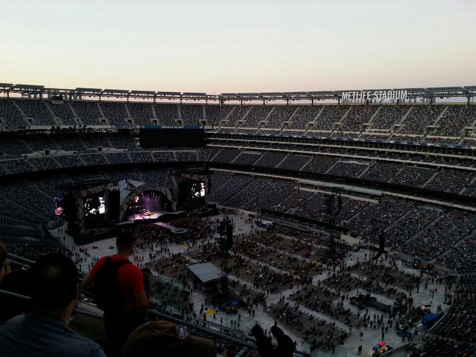 MetLife Stadium Section 334 Concert Seating ...