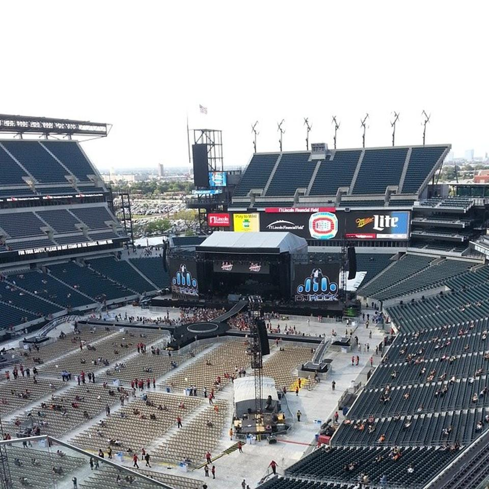 Lincoln Financial Field Section 218 Concert Seating
