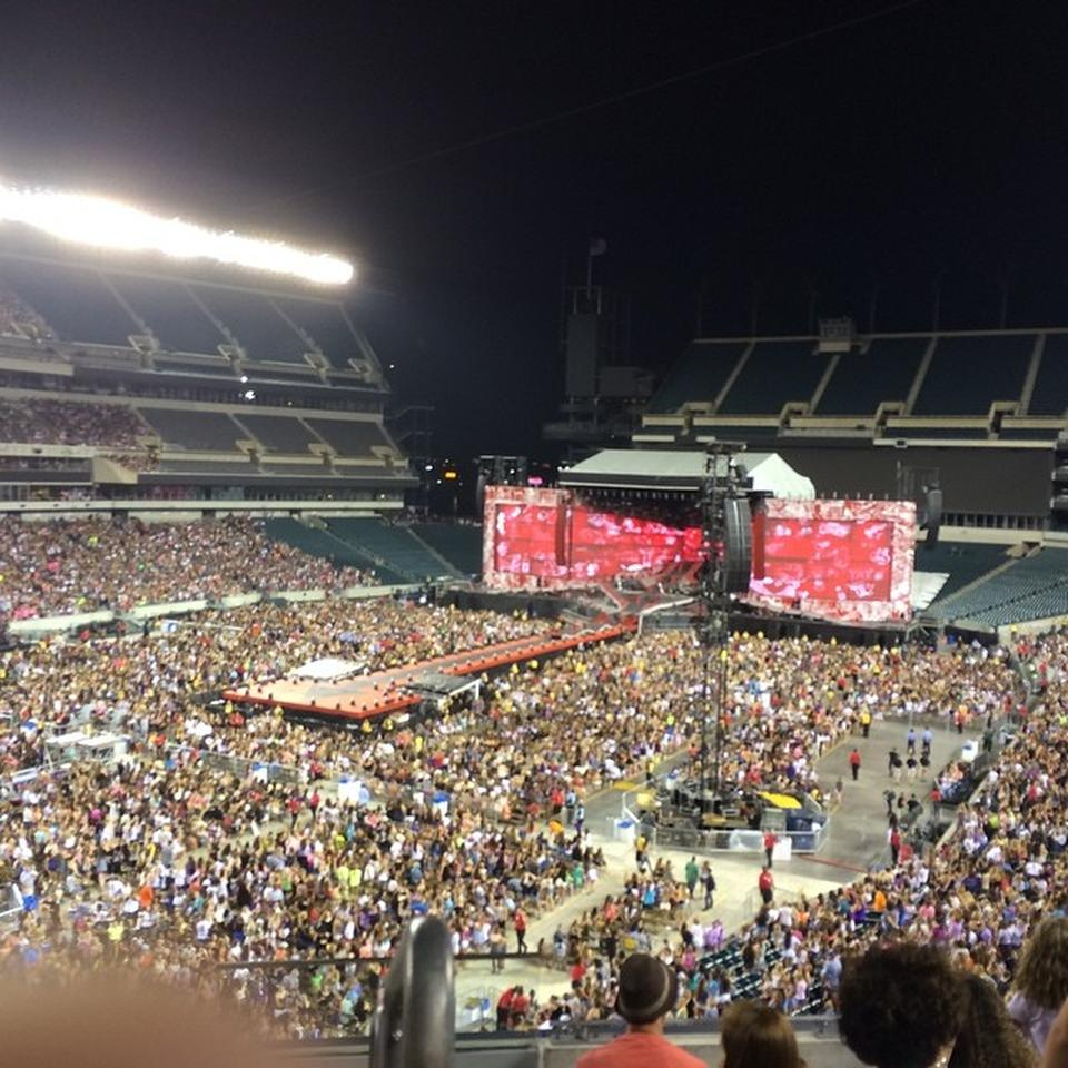 Section M14 seat view