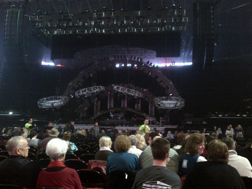KeyArena Floor AA Concert Seating RateYourSeatscom