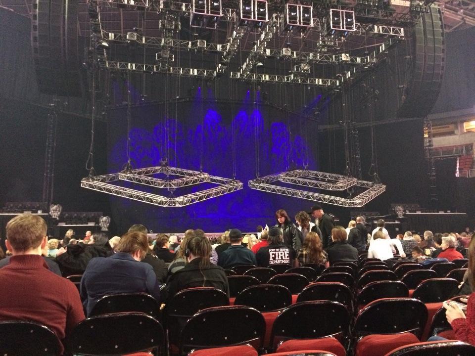 KeyArena Concert Seating Guide RateYourSeatscom