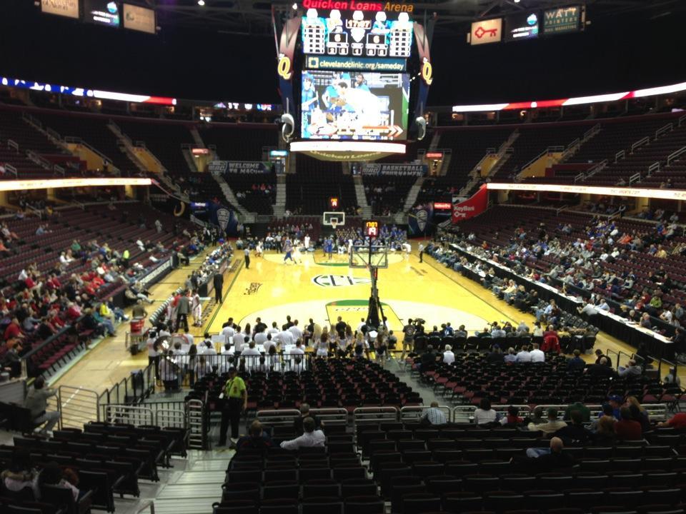 Rocket Morte FieldHouse Section 101 - Cleveland Cavaliers ... on