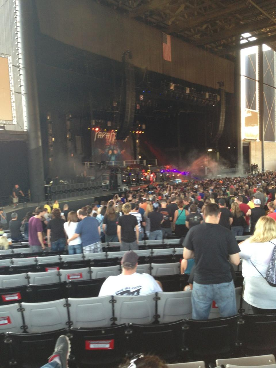 Hollywood Casino Amphitheatre Tinley Park Il Section 105