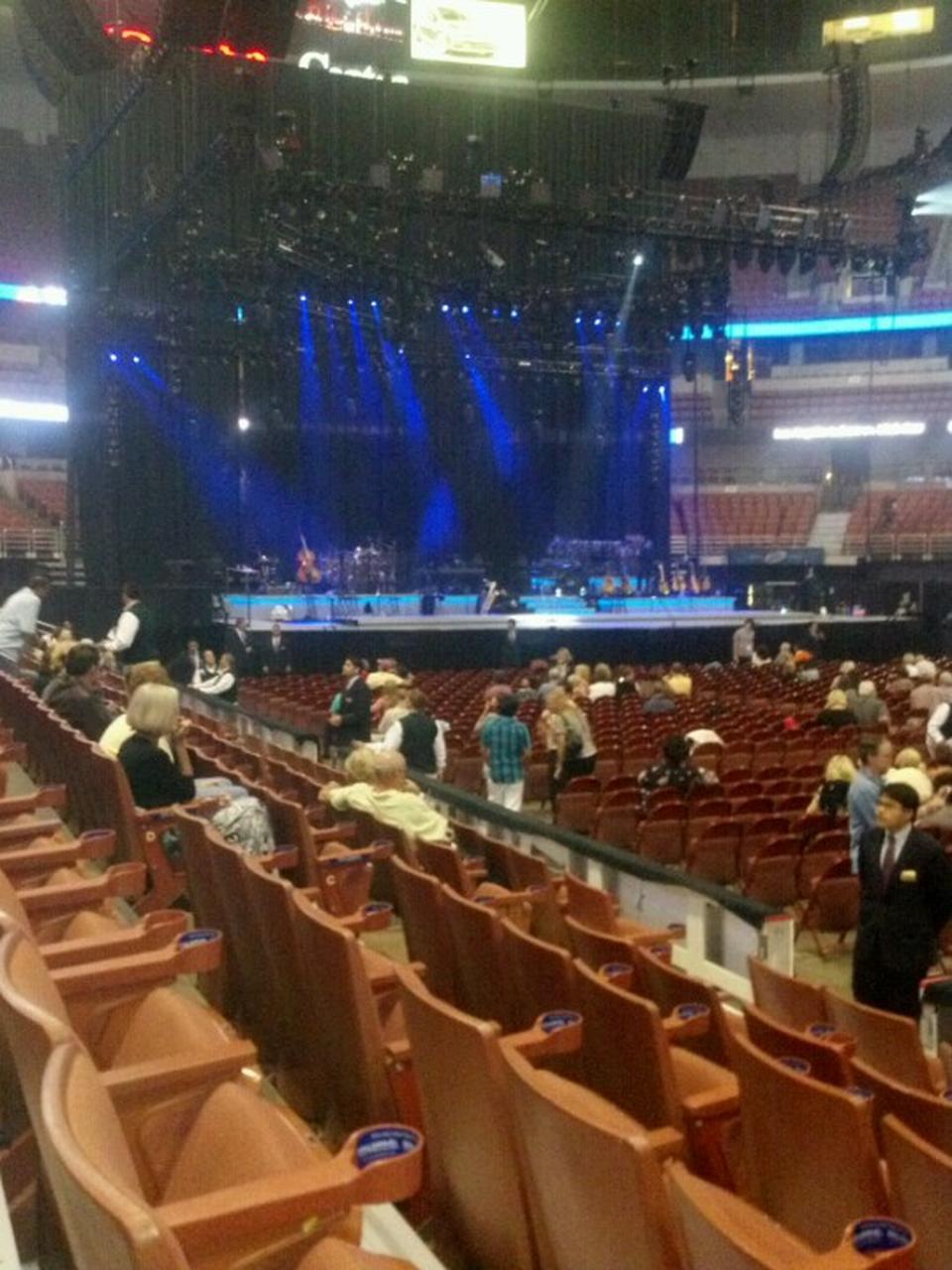 Elegant Concert Seat View For Honda Center Section 207, ...