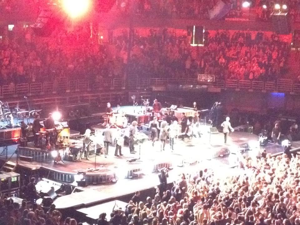 Concert Seat View For Honda Center Section 208 ...