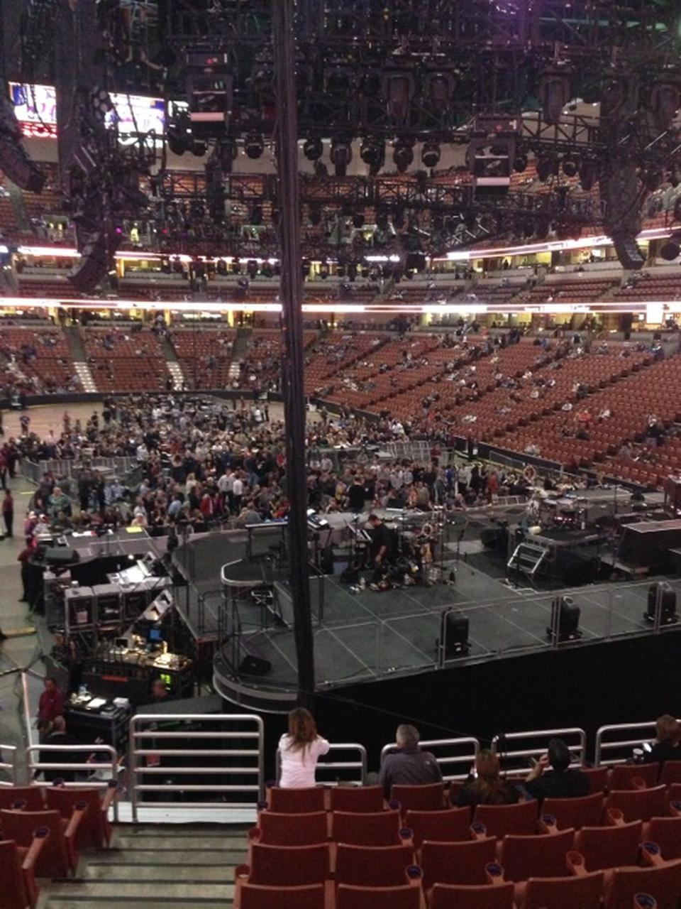 Concert Seat View for Honda Center Section 217