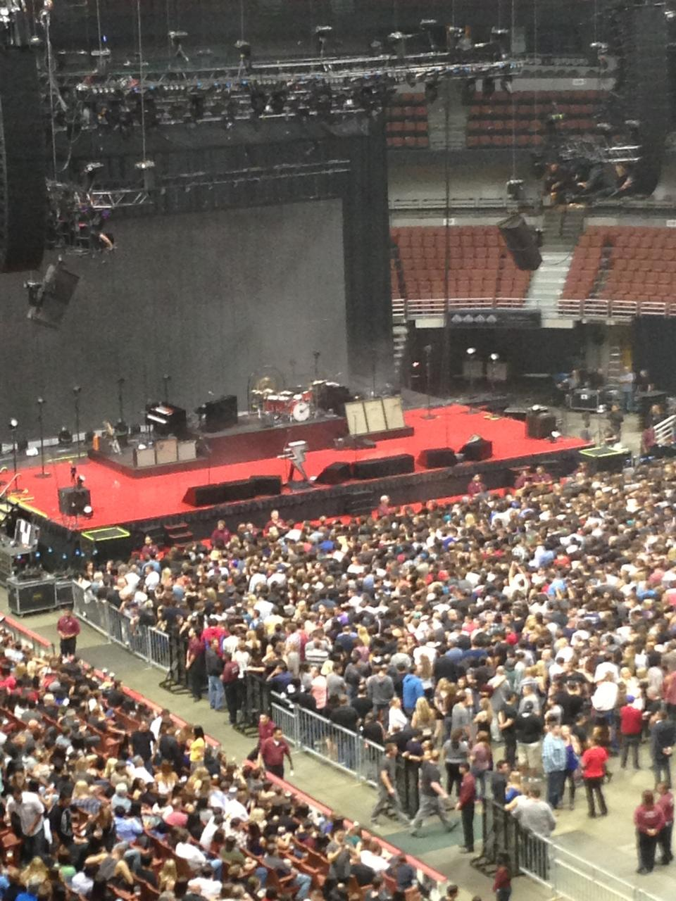 Concert Seat View For Honda Center Section 406