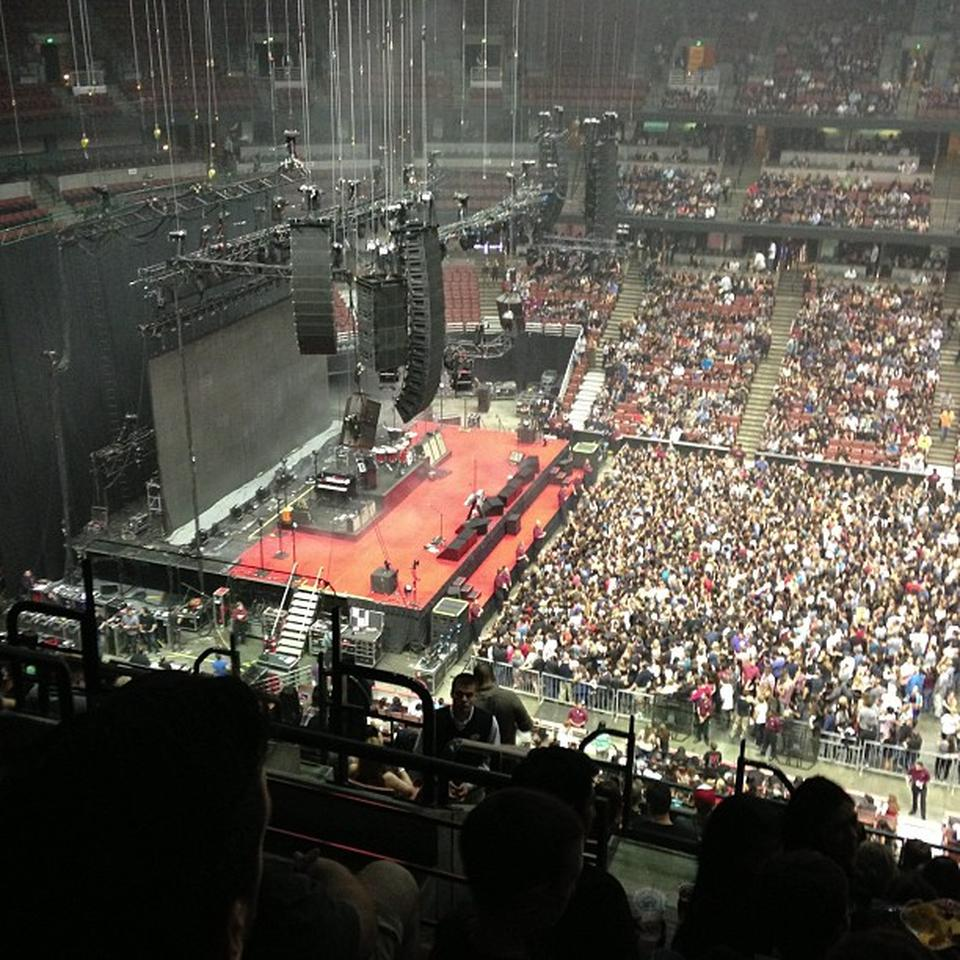 Concert Seat View For Honda Center Section 412 ...