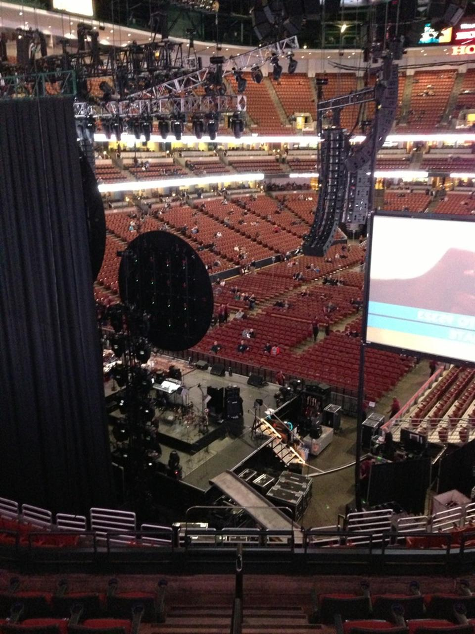 Concert Seat View for Honda Center Section 311