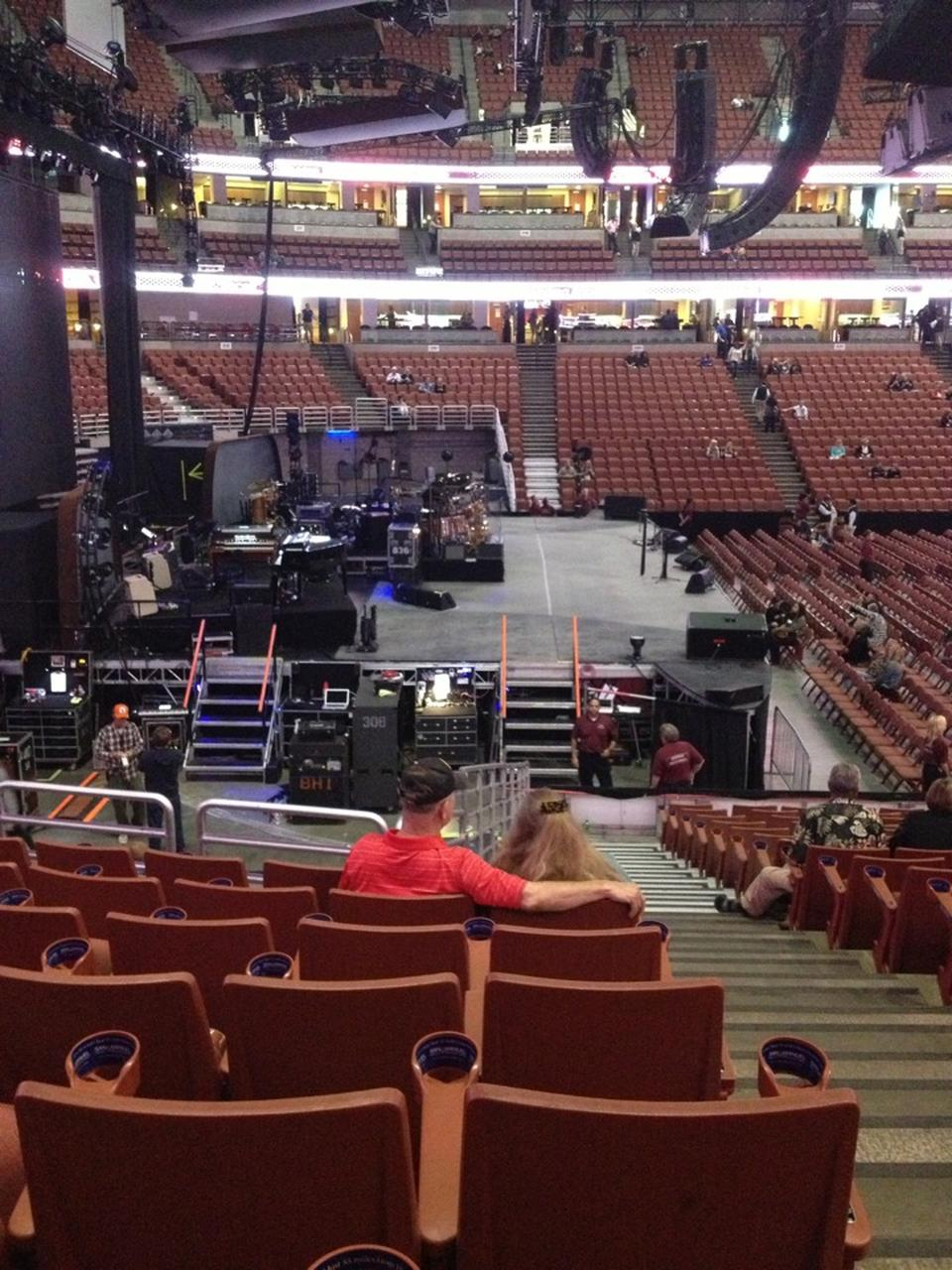 Awesome Concert Seat View For Honda Center Section 211 ...