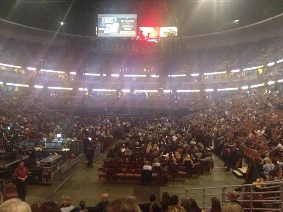 Concert Seat View for Honda Center Section 228