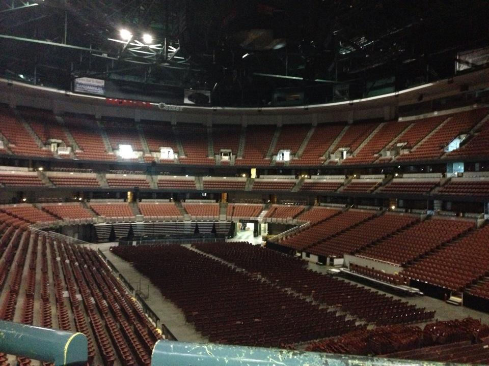 Concert Seat View For Honda Center Section 303