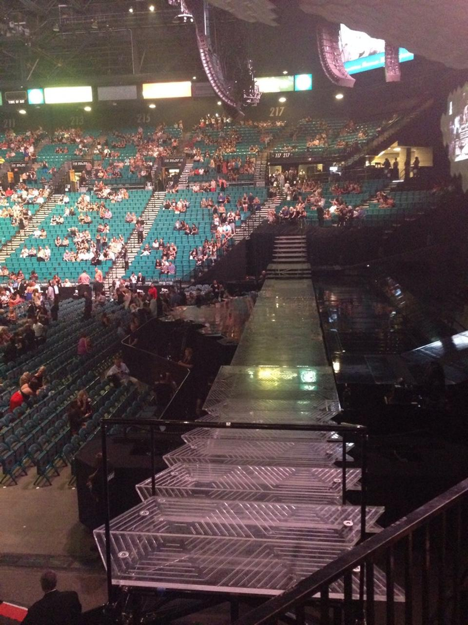 MGM Grand Garden Arena Section 18