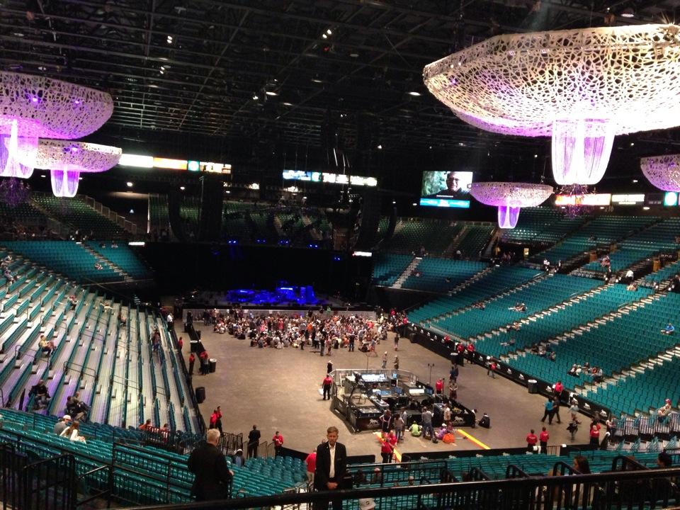 Concert Seat View for MGM Grand Garden Arena Section 203, Row A ...