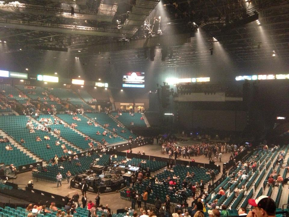 Concert Seat View for MGM Grand Garden Arena Section 104