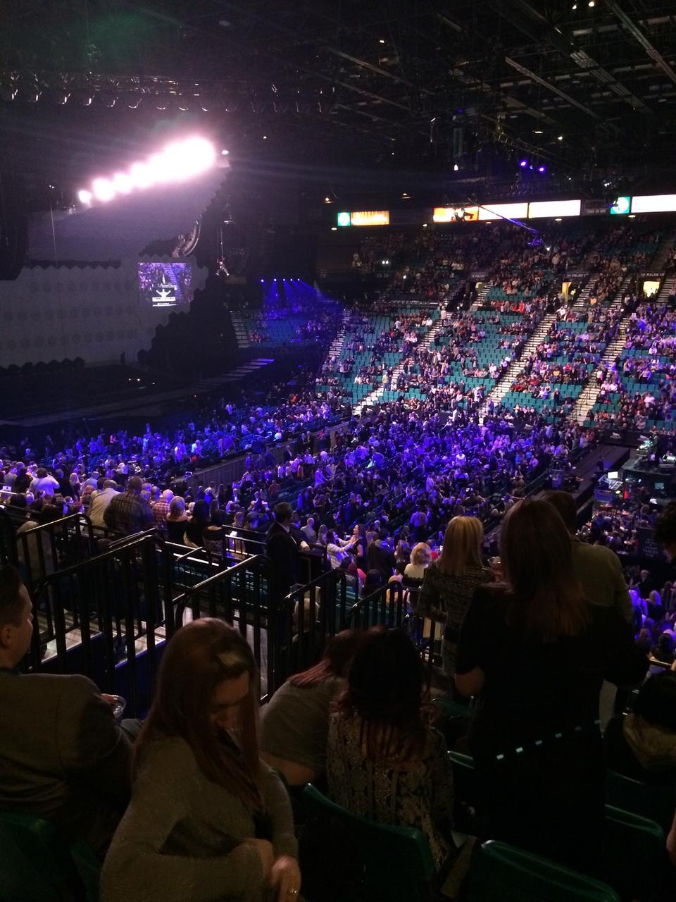Mgm Grand Garden Arena Section 109 Rateyourseats Com