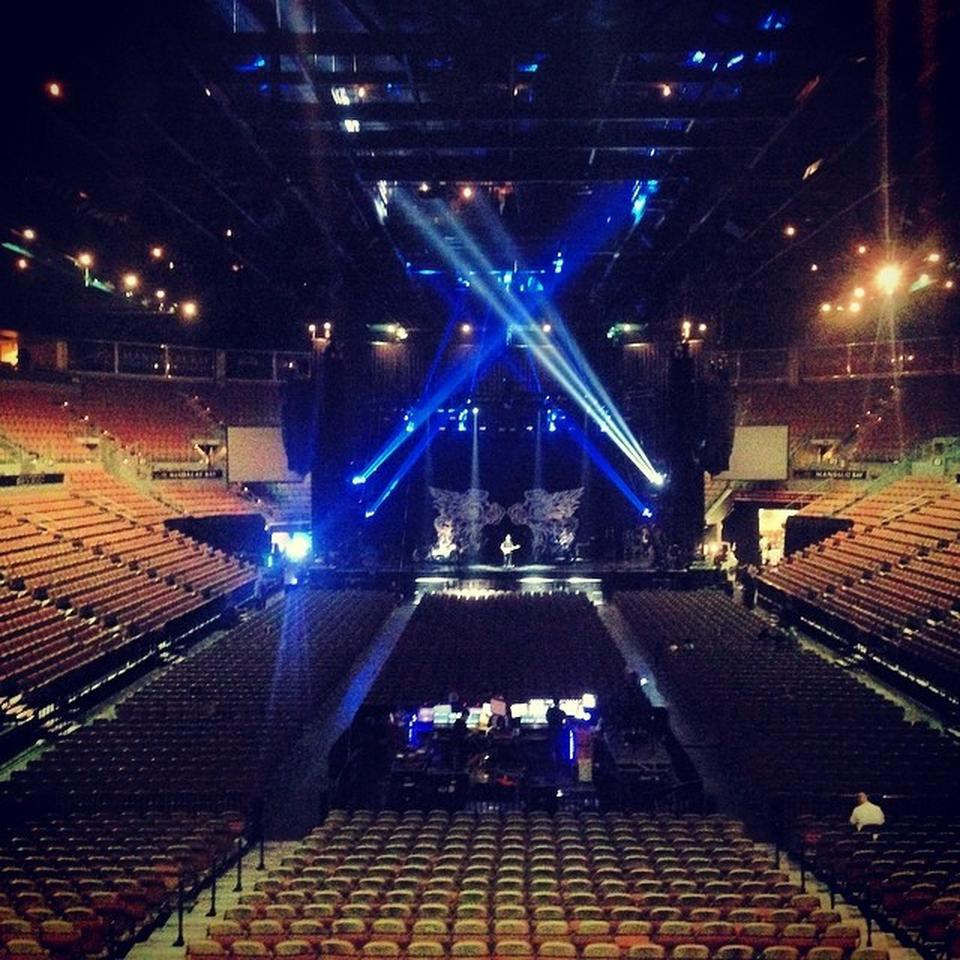 Mandalay Bay Events Center Section 113 Concert Seating