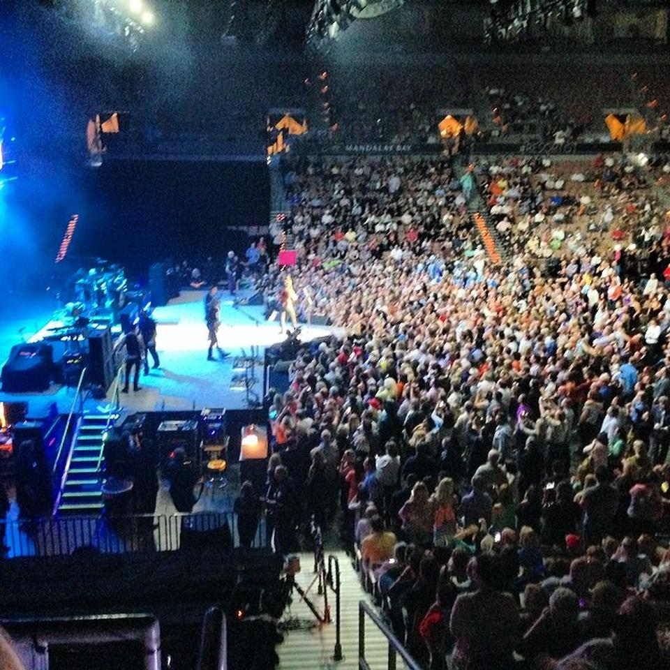 Mandalay Bay Events Center Section 104 Concert Seating Rateyourseats
