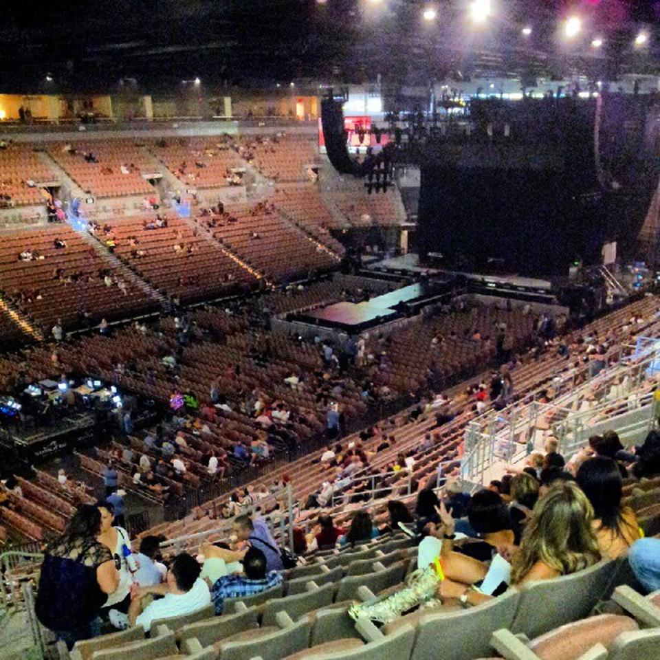 Mandalay Bay Events Center Section 216 Concert Seating
