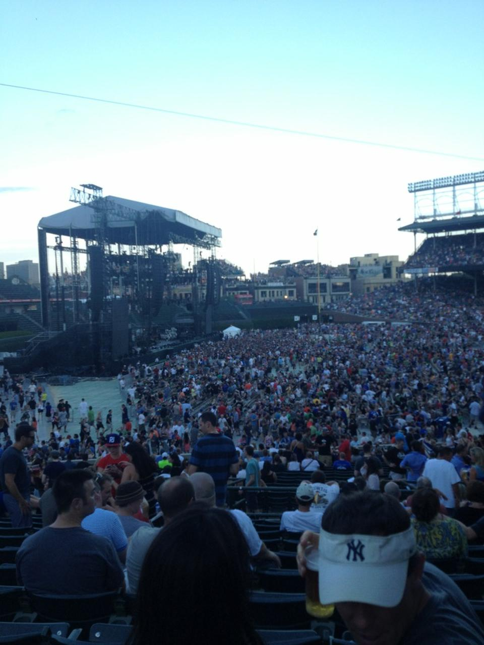 Wrigley Field Section 105 Concert Seating - RateYourSeats.com