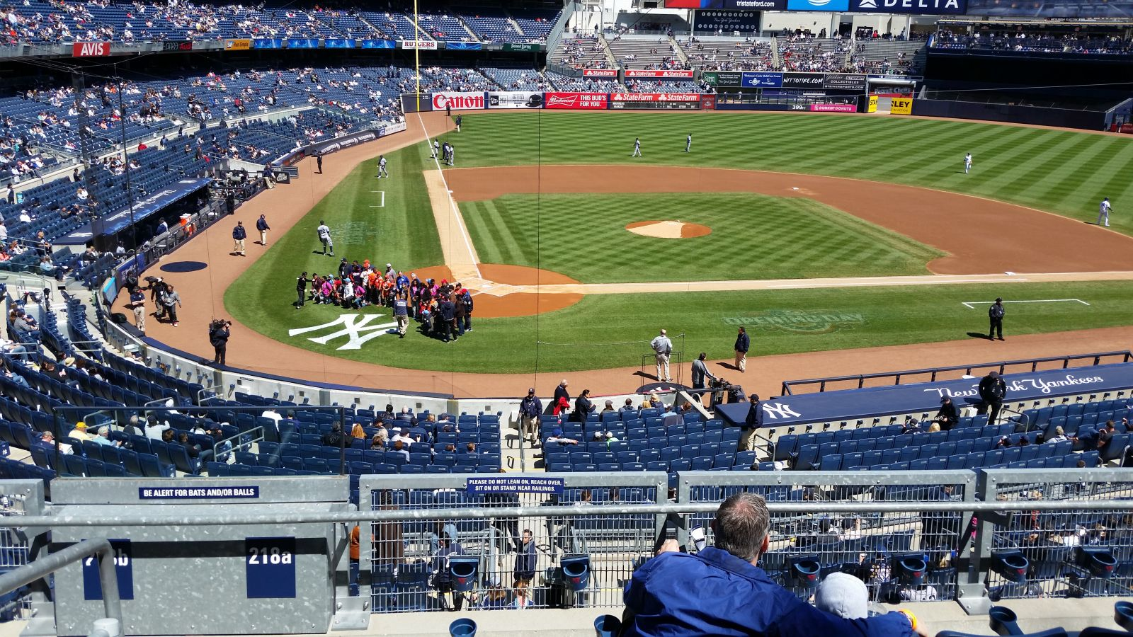 New York Yankees Seat View for Yankee Stadium Section 218A, Row 5, Seat 13
