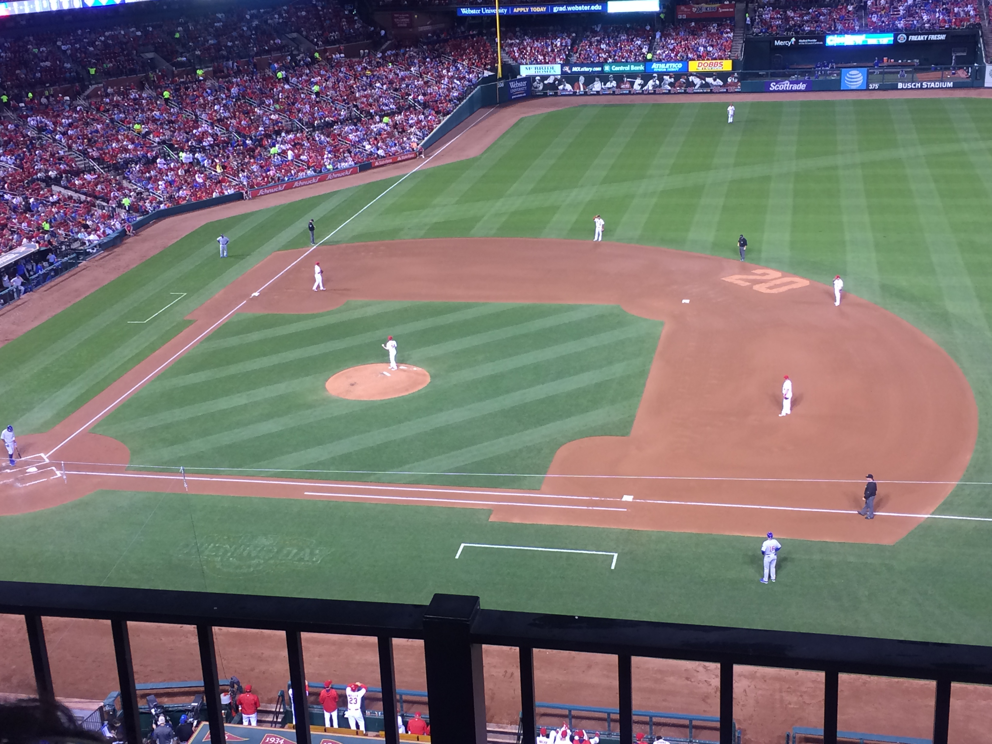 Busch Stadium : Row 2