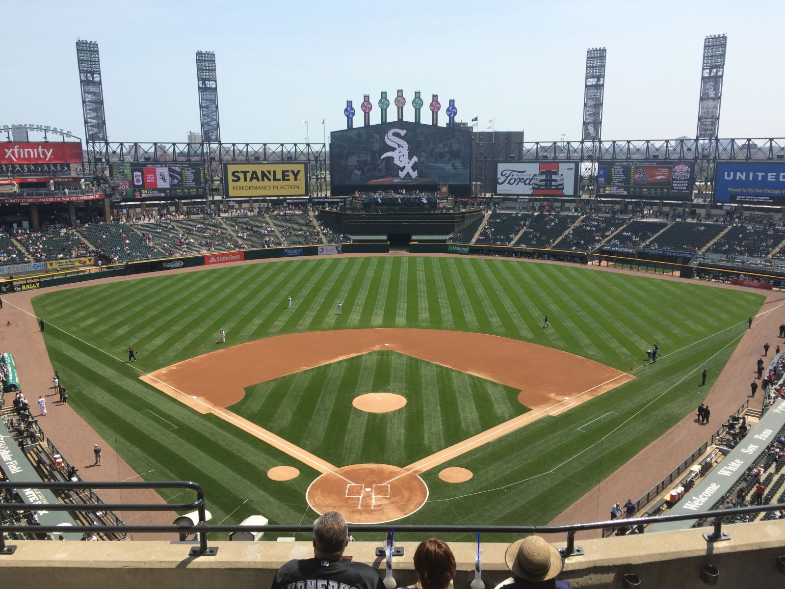 Seat View for Guaranteed Rate Field Section 531, Row 5, Seat 7
