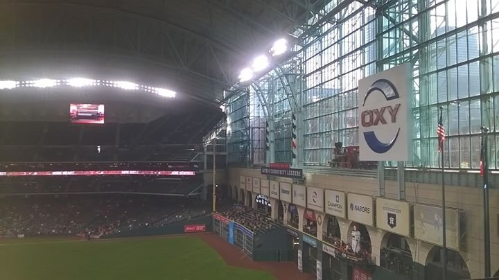 Seat View for Minute Maid Park Section 254, Row A, Seat 17