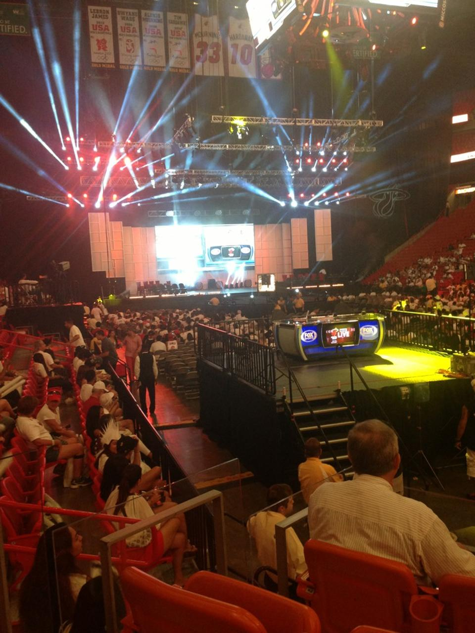 Americanairlines Arena Section 114 Concert Seating