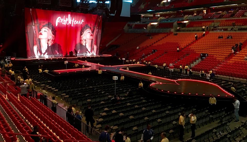 AmericanAirlines Arena Section 116 Concert Seating ...