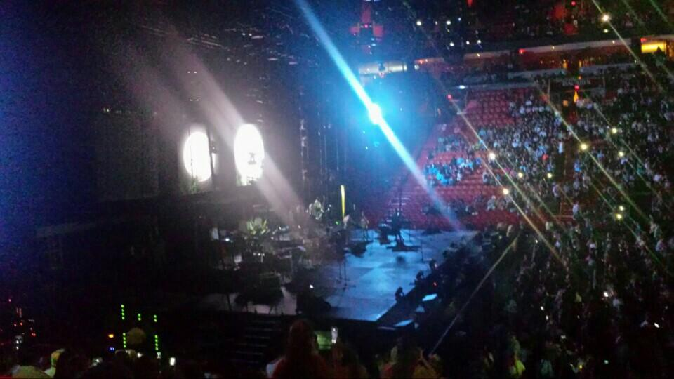 americanairlines arena section 120 concert seating rateyourseatscom