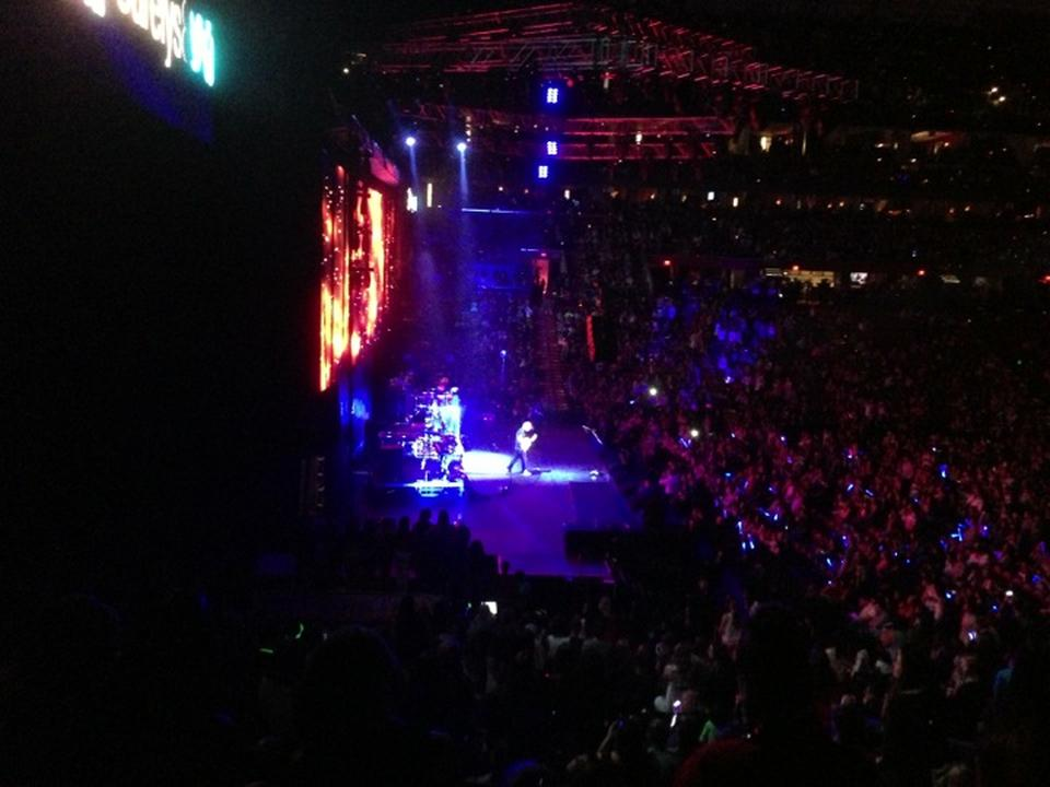 Concert Seat View for BB&T Center Section 121, Row 18
