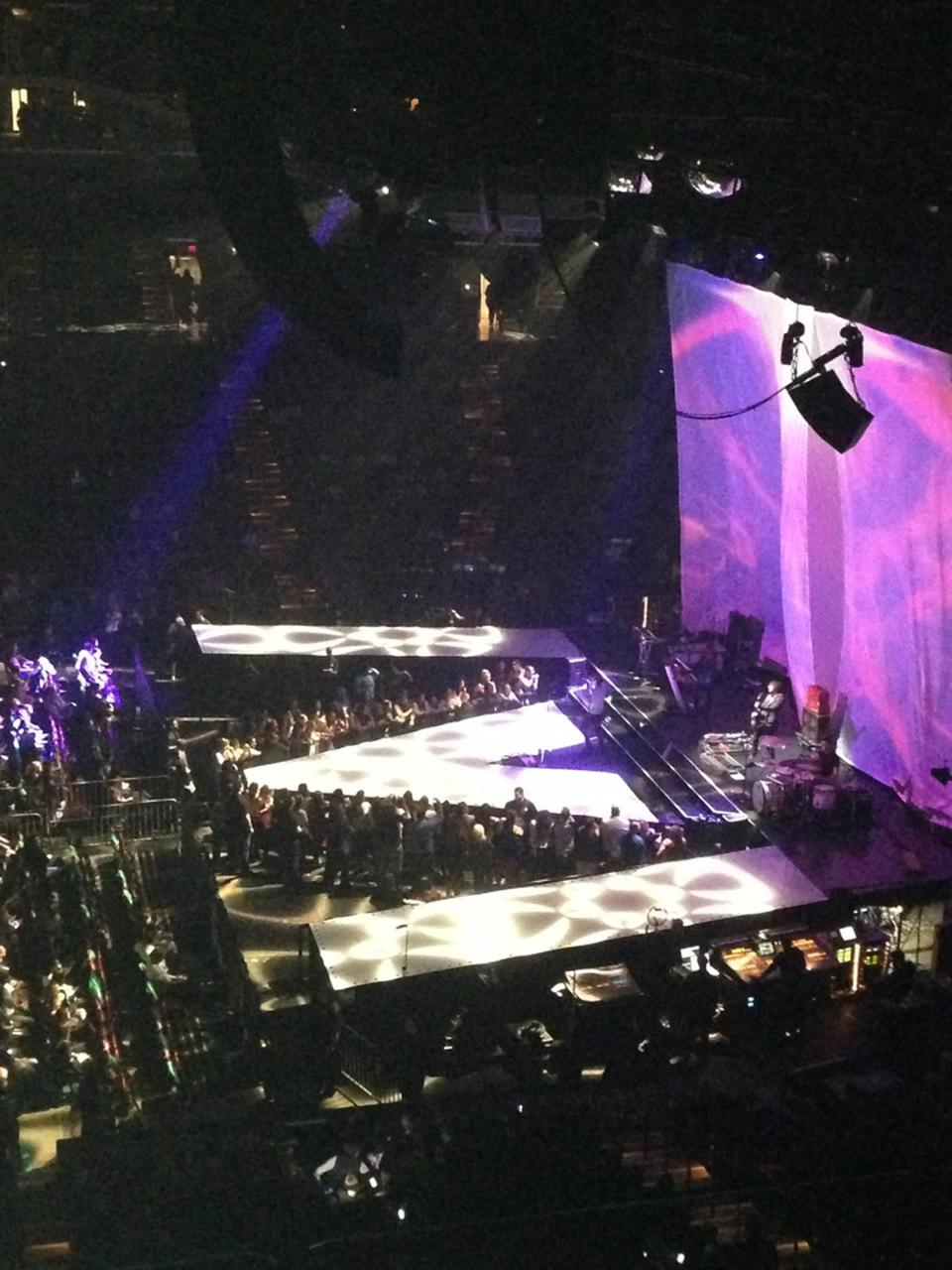 Concert Seat View for BB&T Center Club C34