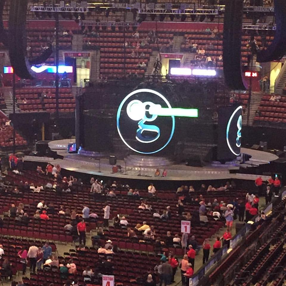 bb t center section 104 concert seating rateyourseats com rh rateyourseats com