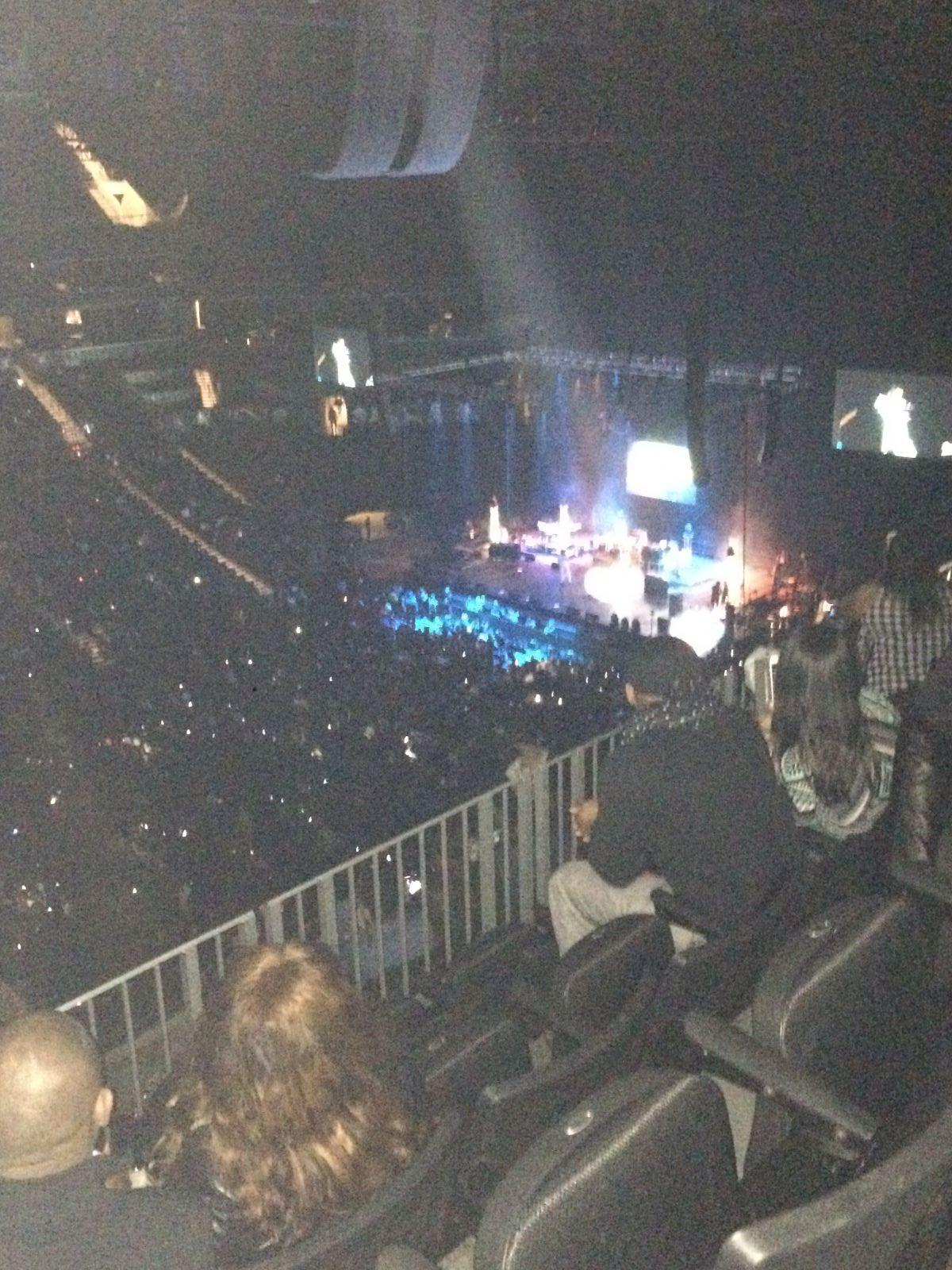 Concert Seat View for Barclays Center Section 210, Row 6, Seat 16