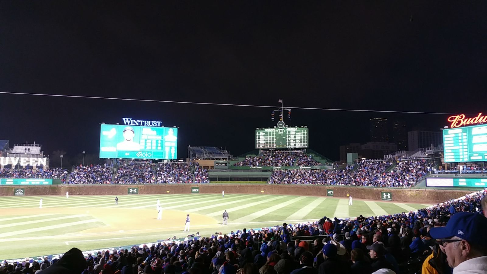 Seat View for Wrigley Field Section 228, Row 1, Seat 2