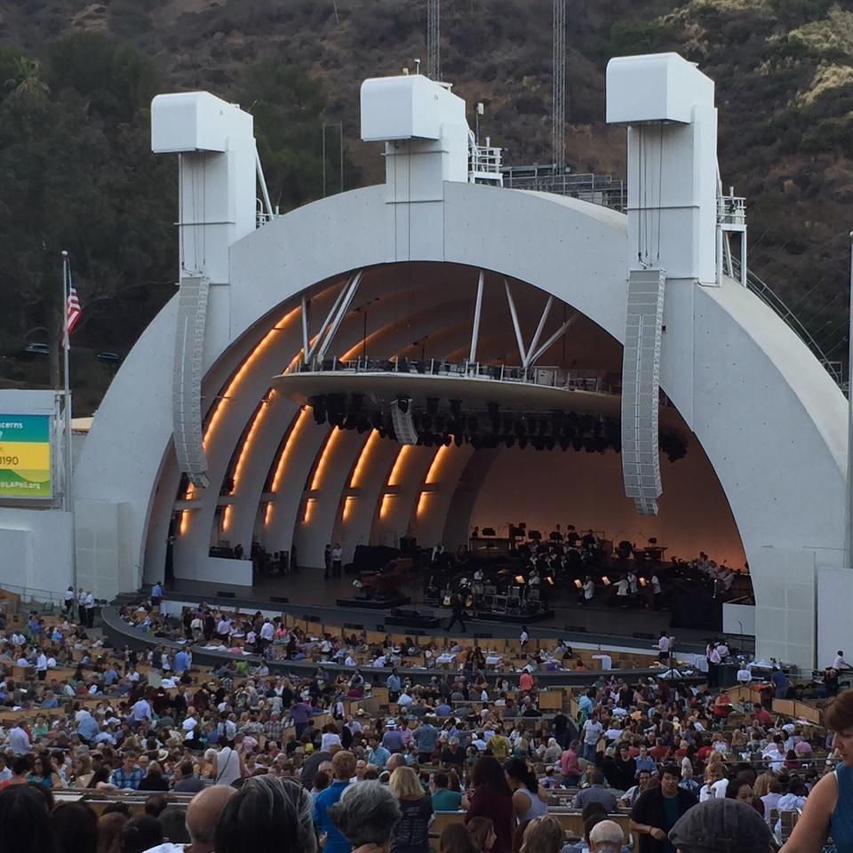 Hollywood bowl section f1 rateyourseats com