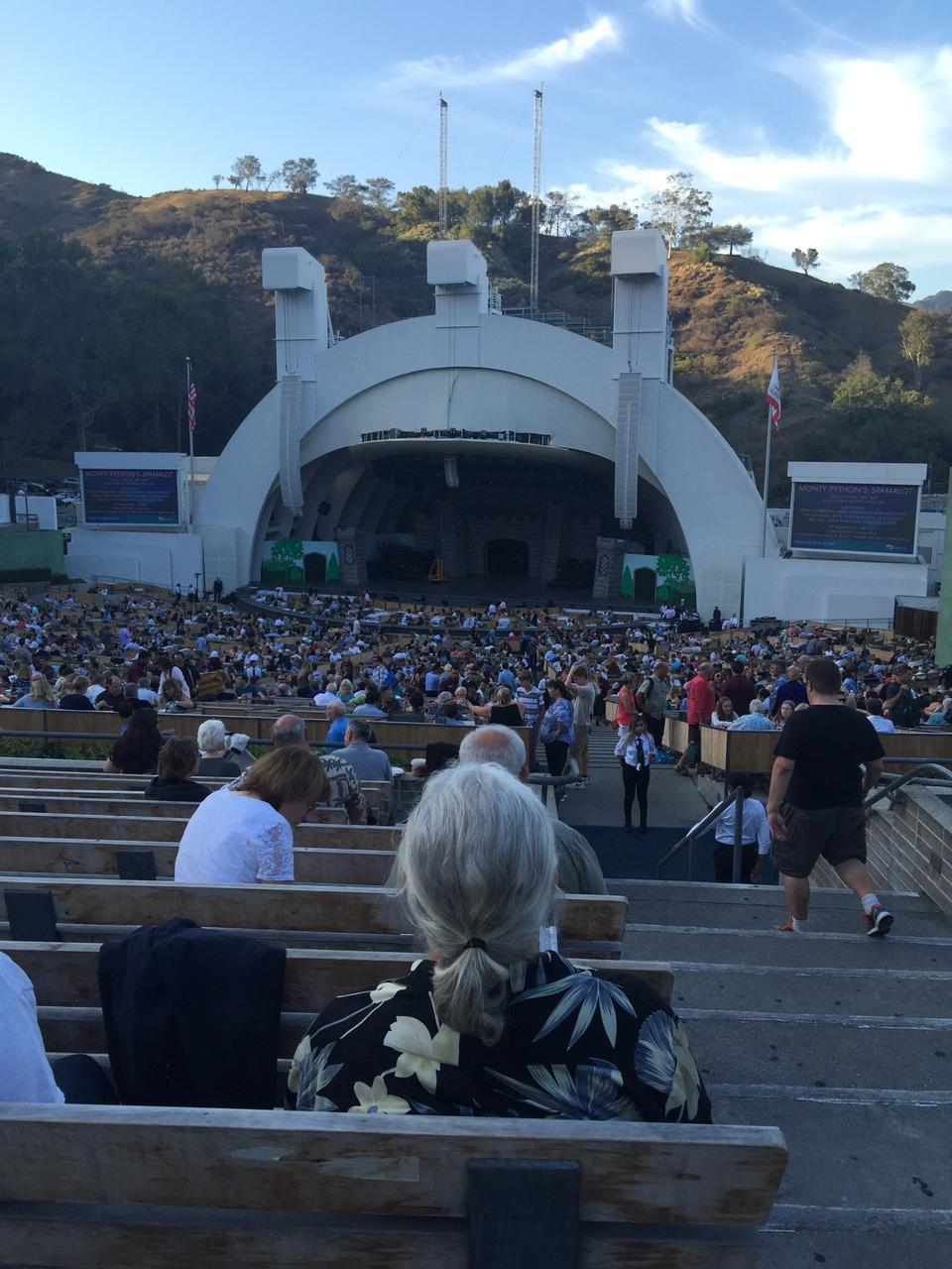 Hollywood Bowl Section G2