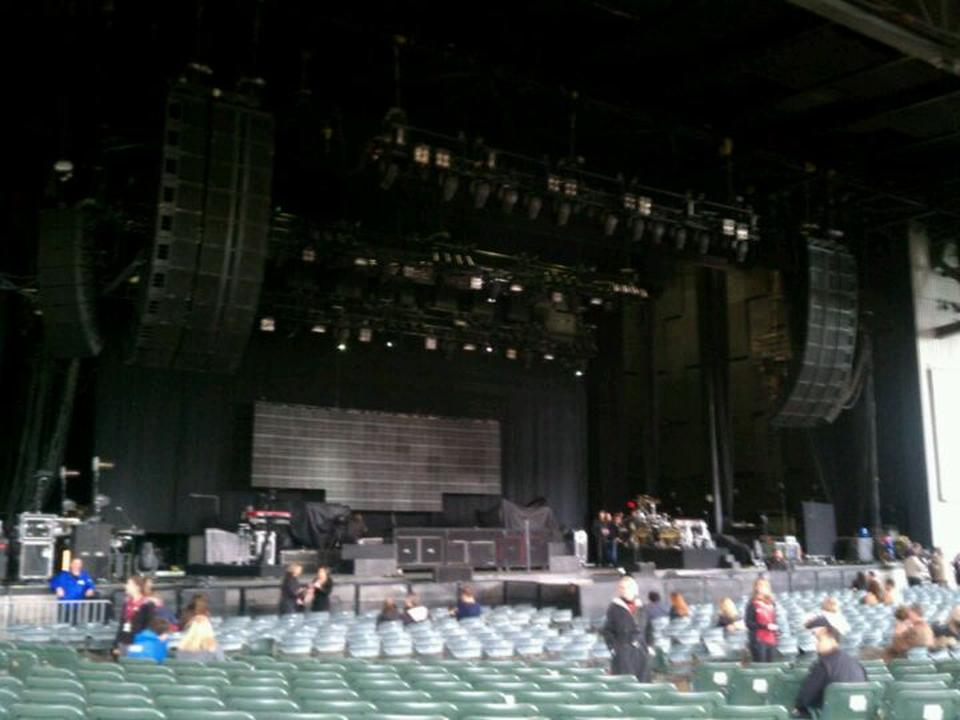 Concert Seat View for Concord Pavilion Section 106