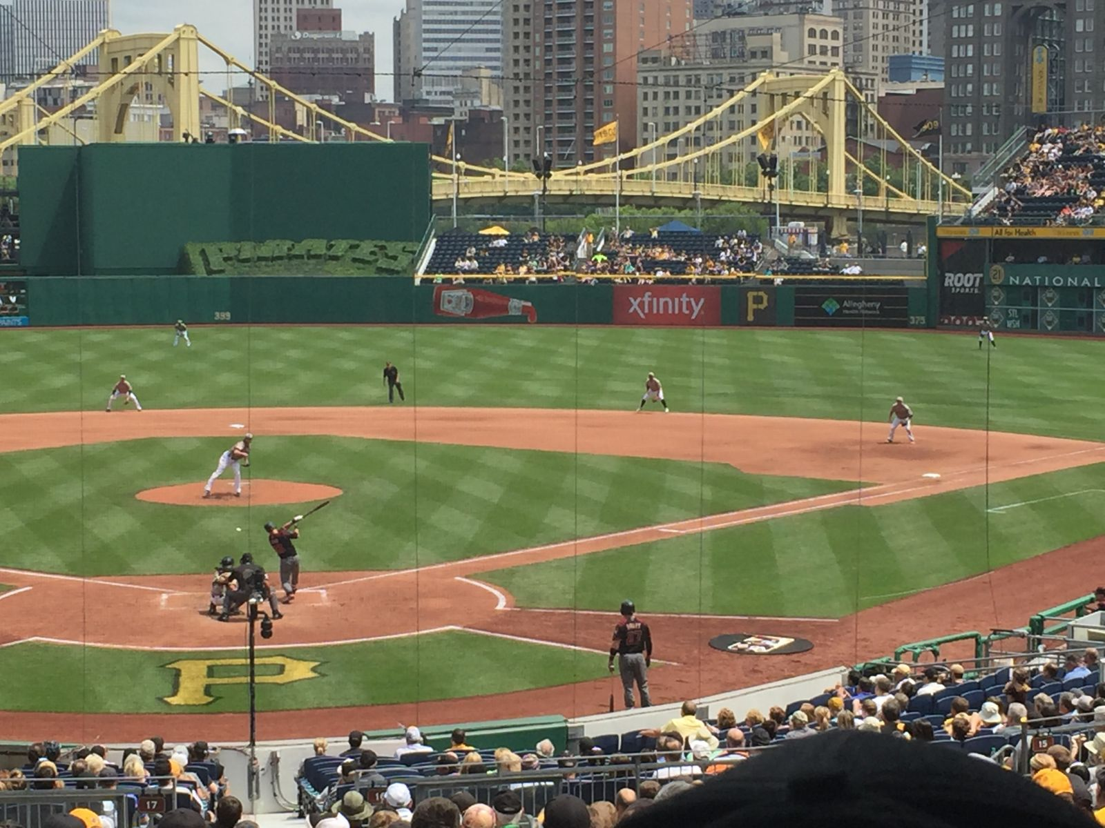 Seat View for PNC Park Section 116, Row Z, Seat 7