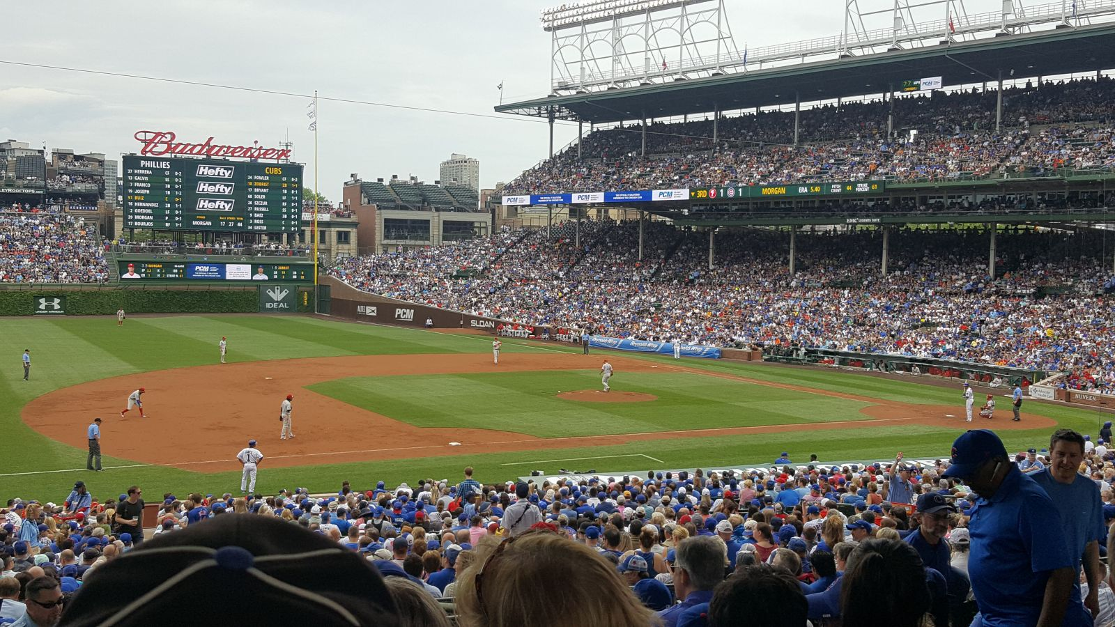 Seat View for Wrigley Field Section 209, Row 9, Seat 109