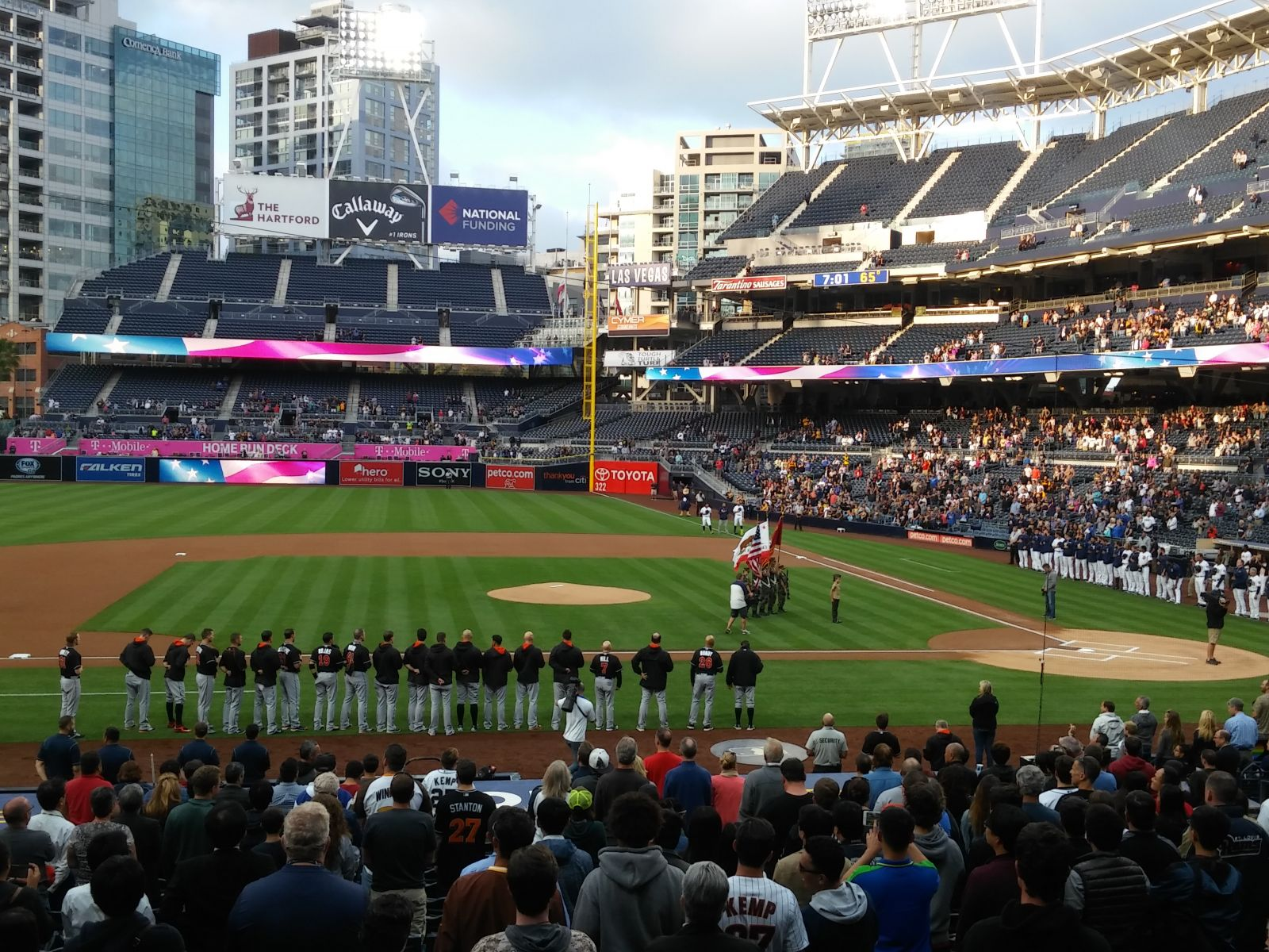 Seat View for PETCO Park Section 108, Row 27, Seat 19