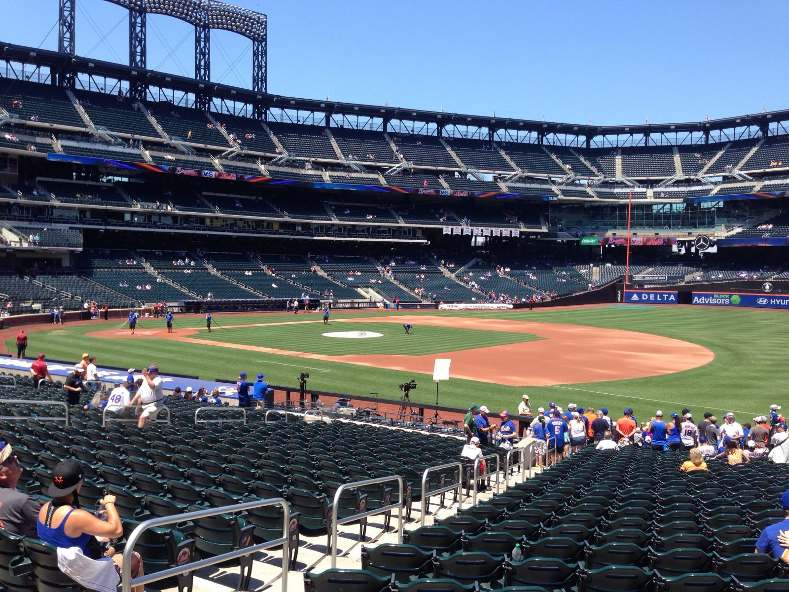 Seat View for Citi Field Section 110, Row 23, Seat 5