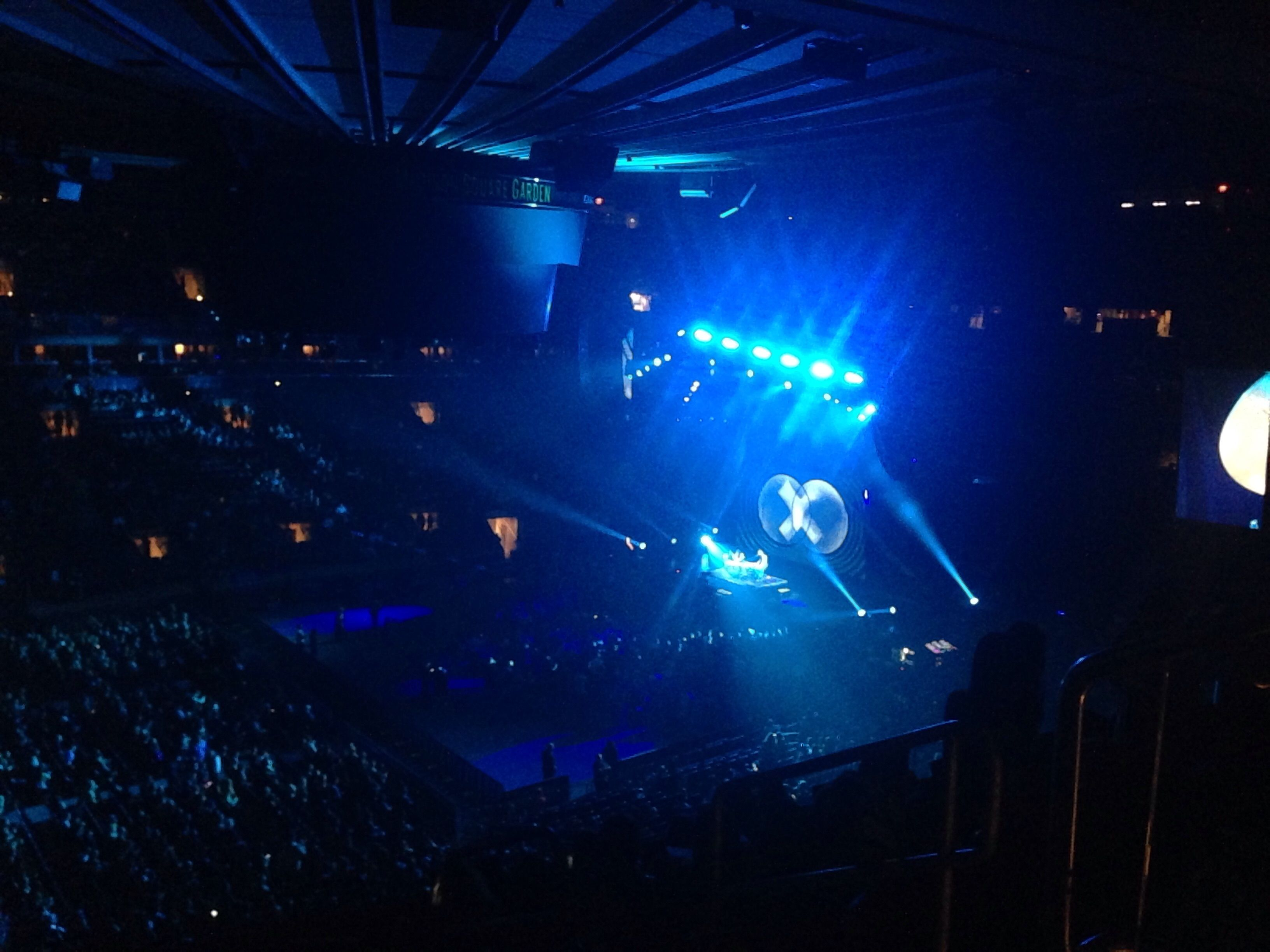 Madison Square Garden : Row 9
