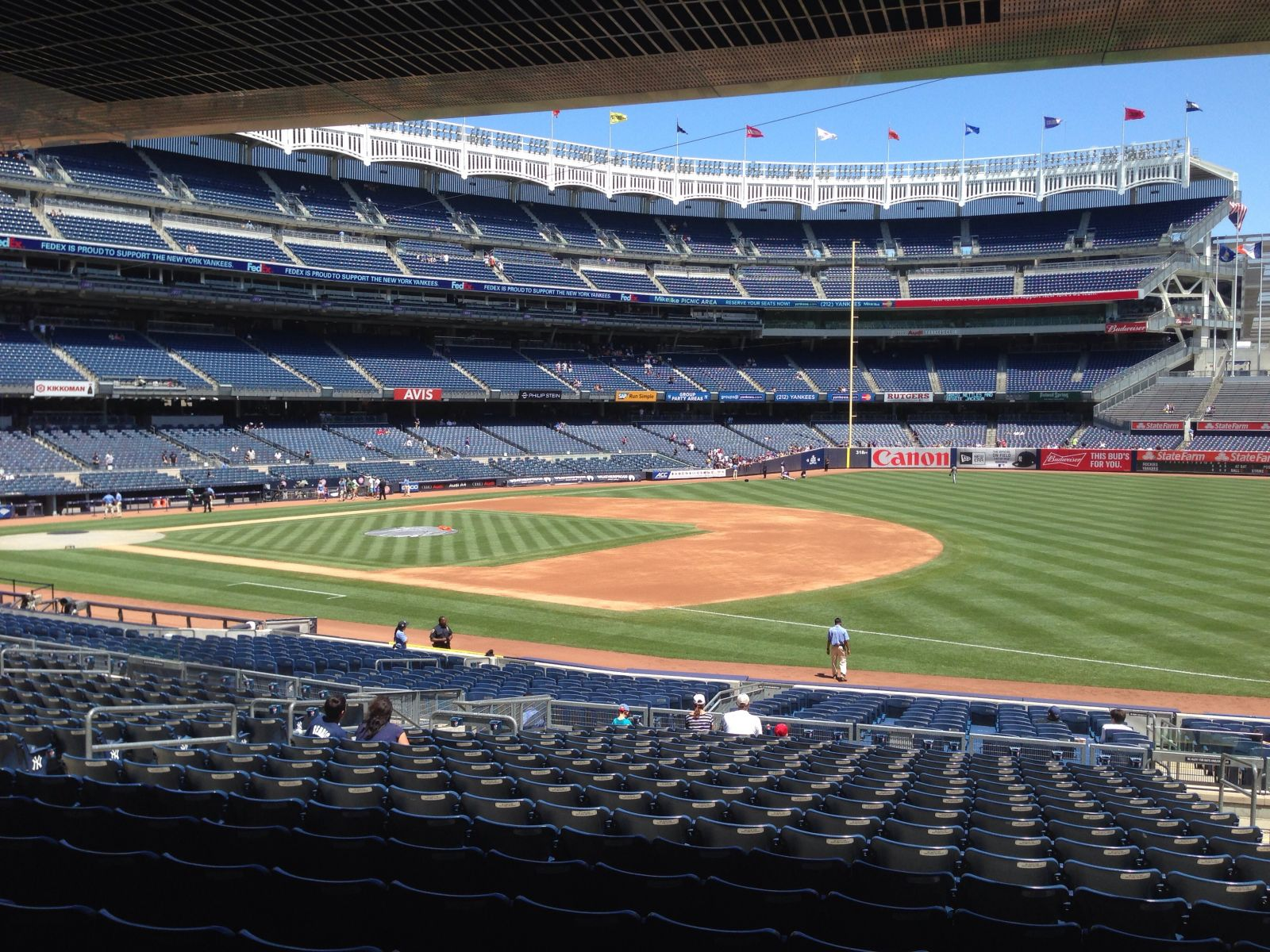Section 113 seat view