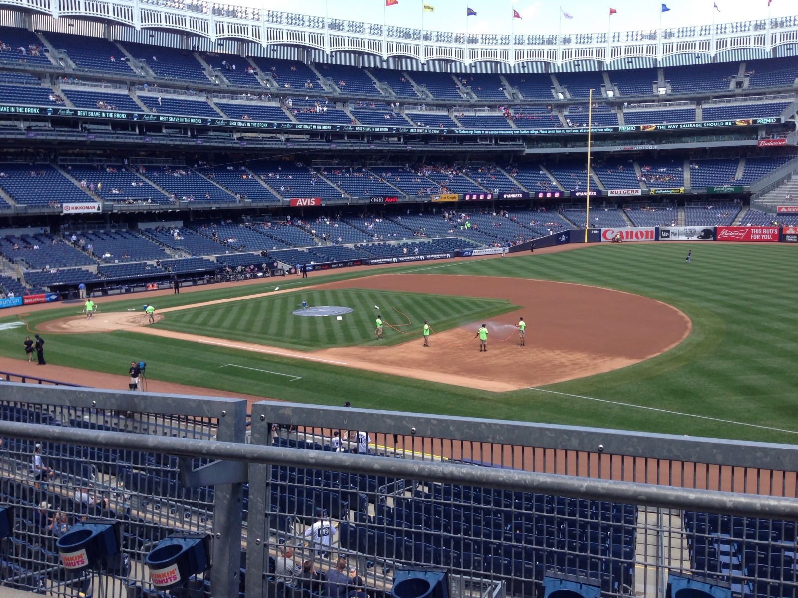 New York Yankees Seat View for Yankee Stadium Section 213, Row 2