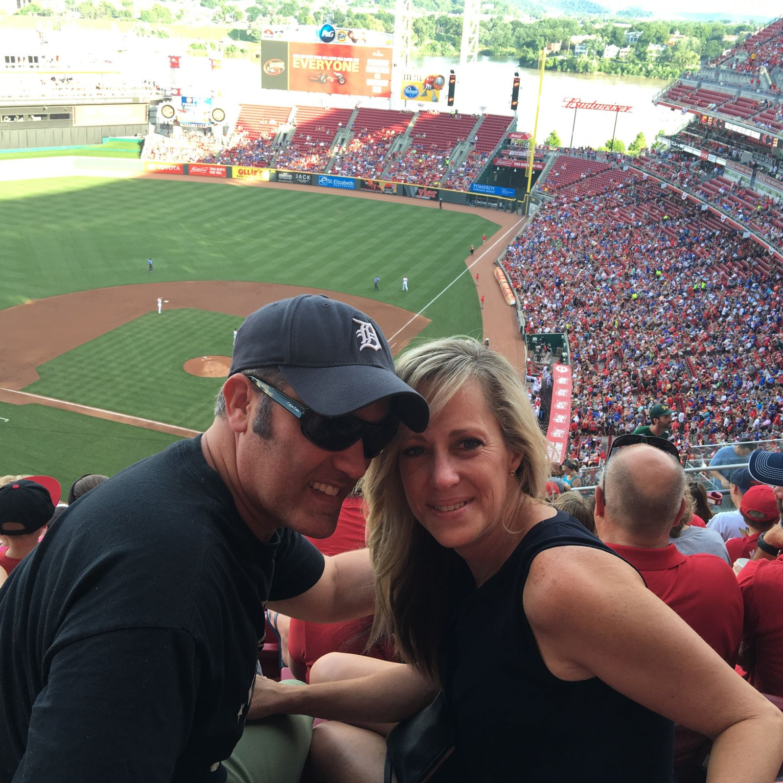 Fans Sitting Near Great American Ball Park Section 522