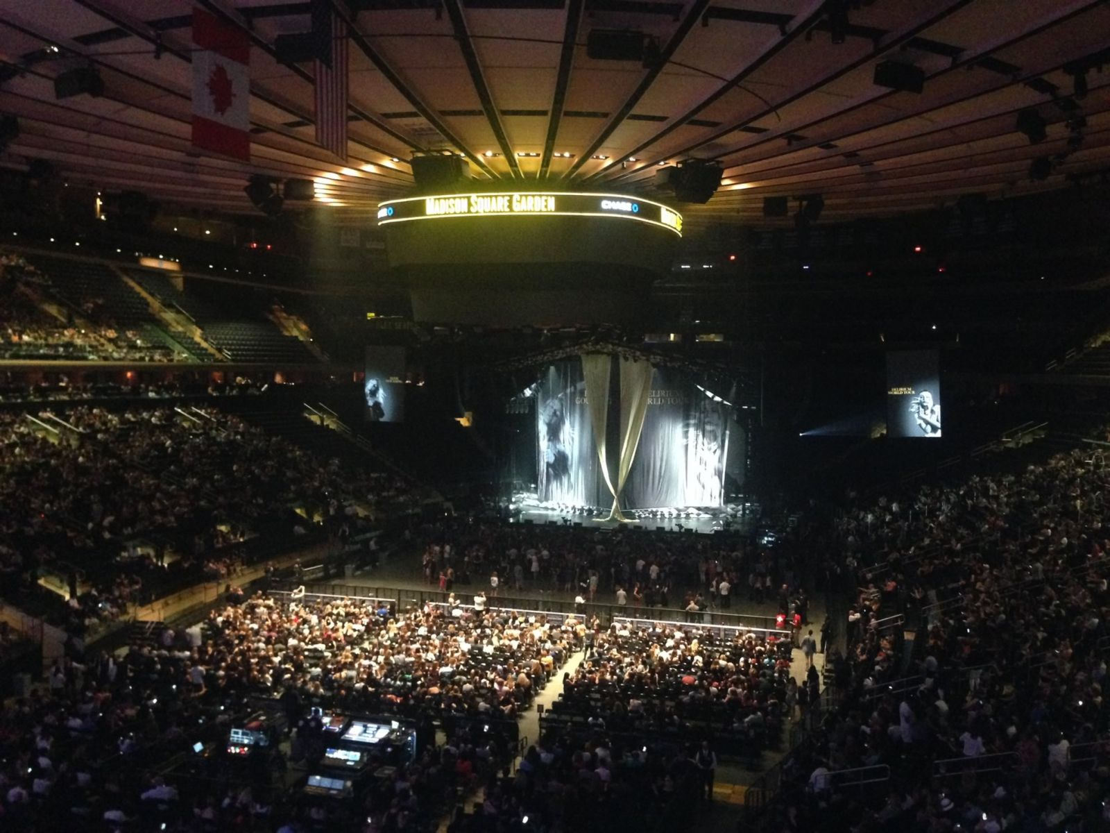 Madison Square Garden : Row 1