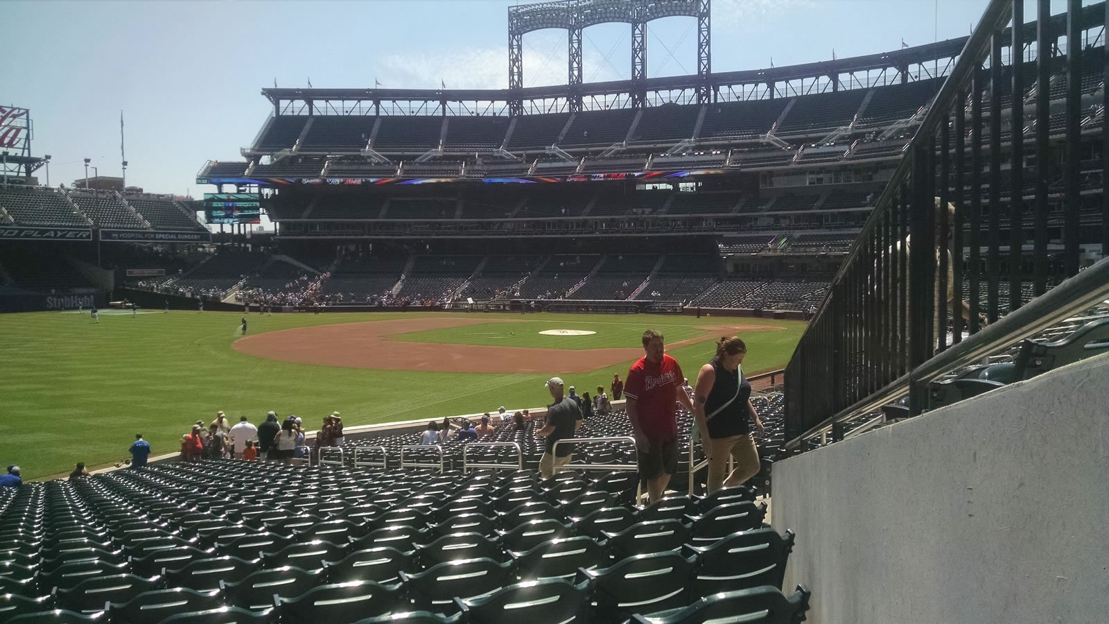 Seat View for Citi Field Section 128, Row 27, Seat 9
