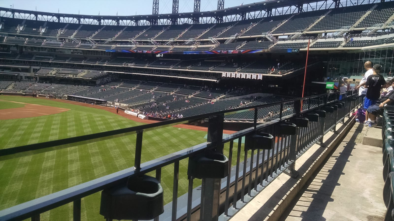 Seat View for Citi Field Section 338, Row 1, Seat 12